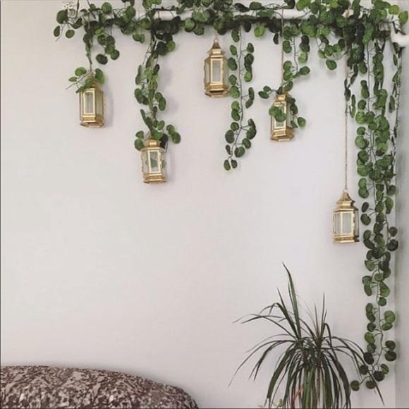 UO Hanging Ivy Leaves Plant Vines 40 feet